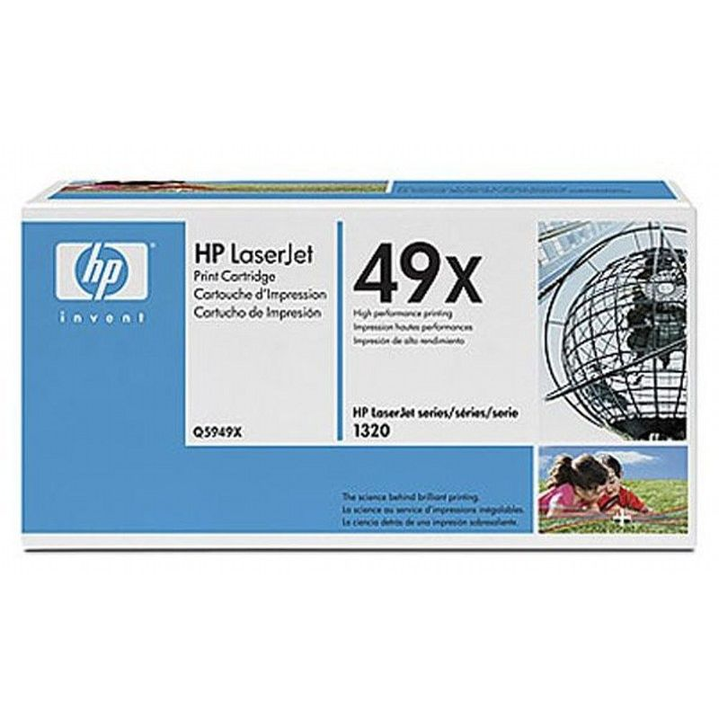 Тонер-картридж HP Q5949XD 49X Black Dual Pack