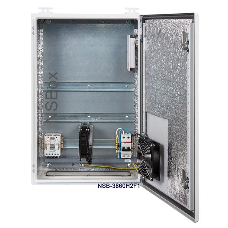 Шкаф серверный монтажный напольный шс-24u