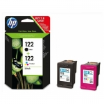 Набор HP CR340HE 122 Black+Tri-colour