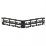 Патч-панель Panduit CPPA72FMWBLY Port Modular Flush Mount