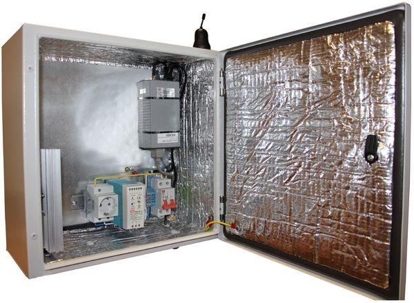 Термошкаф для оборудования связи своими руками 46